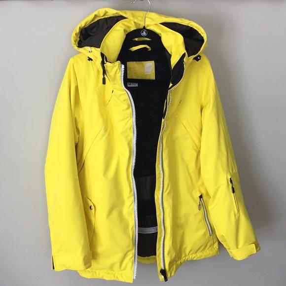 4aef0e9f835 ORAGE women's ski jacket yellow size Medium. M_5c7191743c98449753d633ea